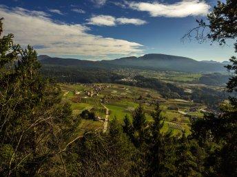 Aussicht bei unserer Wanderung zum Ristorante Arnica