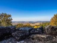 Aussicht von der Burgruine Lichtenstein