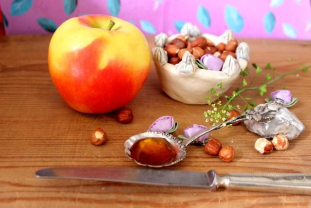 Macarons für Hunde Zutaten im Bild