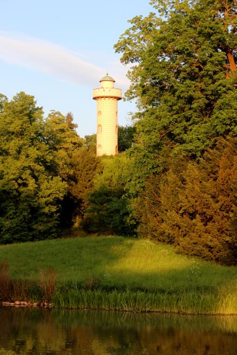 Aussichtsturm im Park Schönbusch