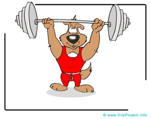 Gewichthebendruck