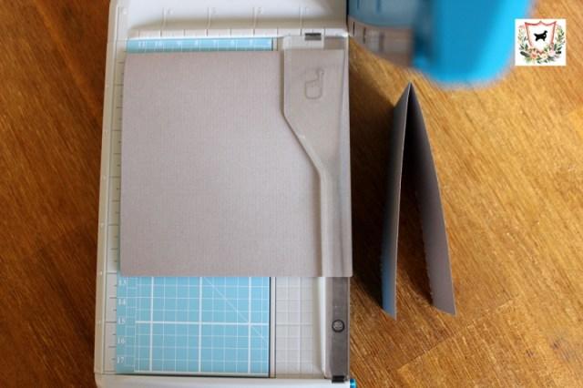 Basteln DIY Bastelkarte Papiercutter
