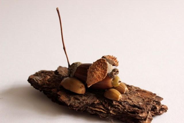 herbstbastelei-mit-hund-basteln-mit-naturmaterialien