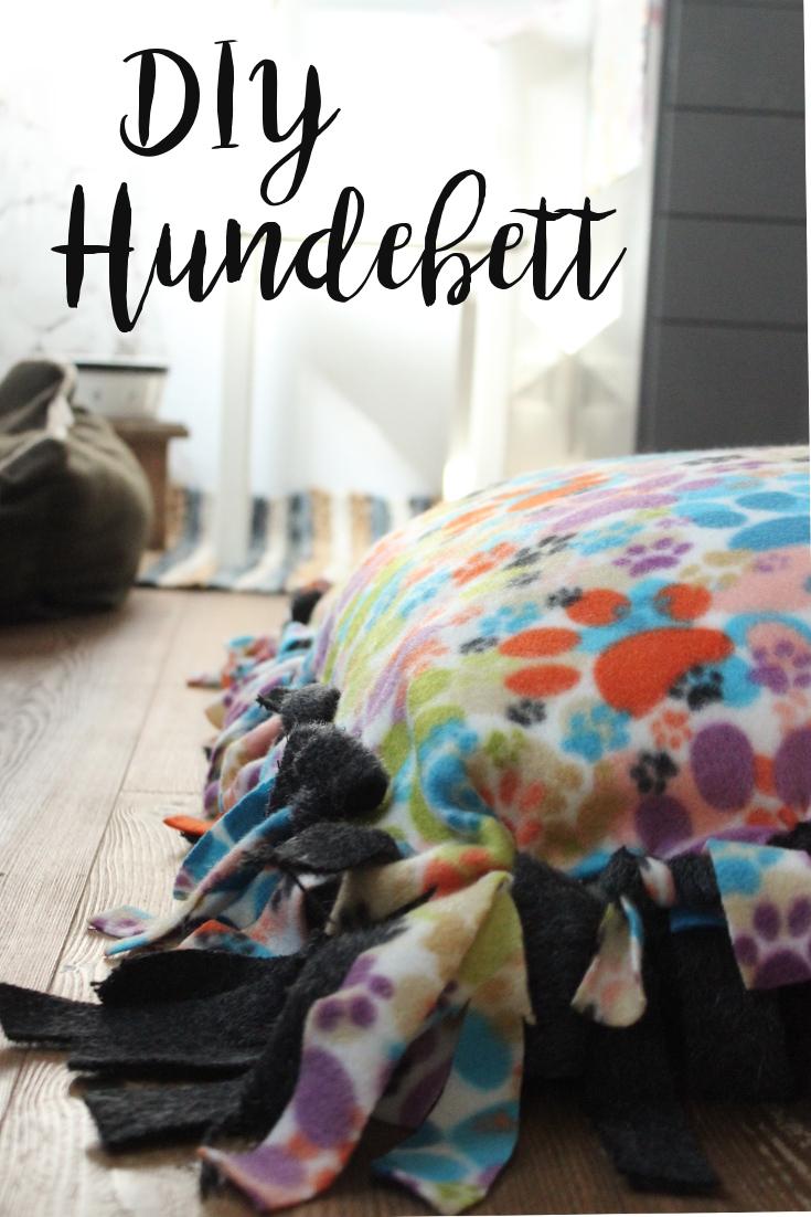 DIY Hundebett selbermachen - Hundebloghaus