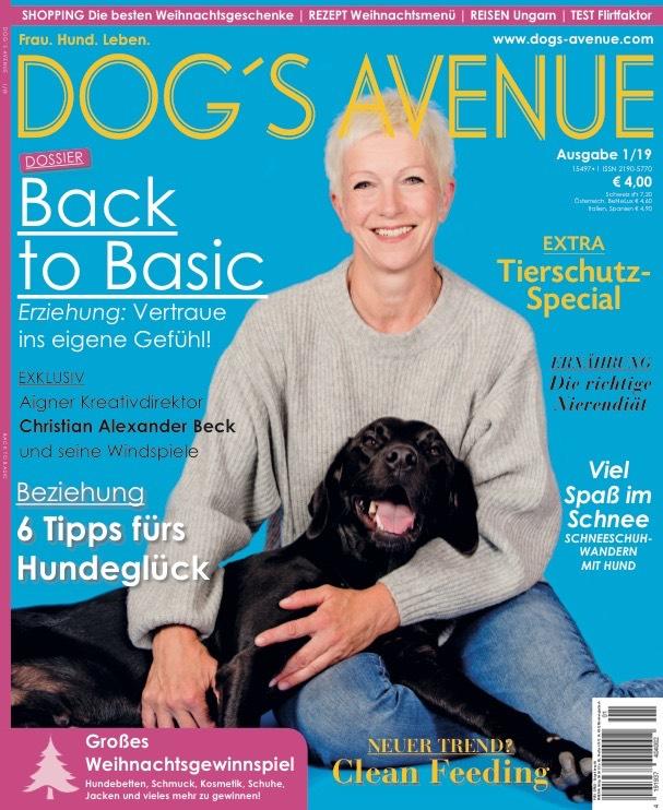 Wir haben einen Zeitungsartikel in der Dog's Avenue