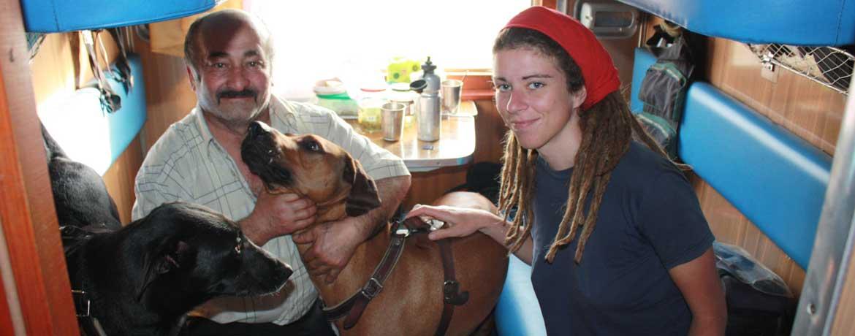 Mit dem Velo und Hunden um die Welt, Teil 10