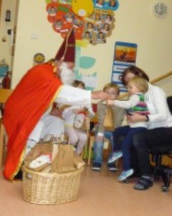 Der Nikolaus kam zu Besuch