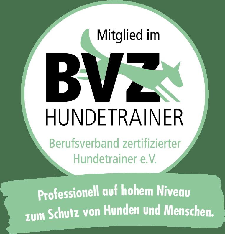 BVZ HUNDETRAINER Logo rund neu - Anmeldung