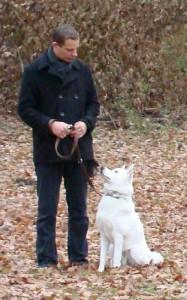 Markus mit Leo