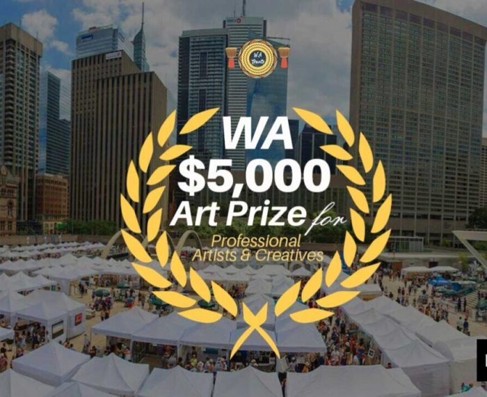 WA $5000 Fund for creatives to join Artnoise Open Program to Canada and exhibit in Art Toronto Fair