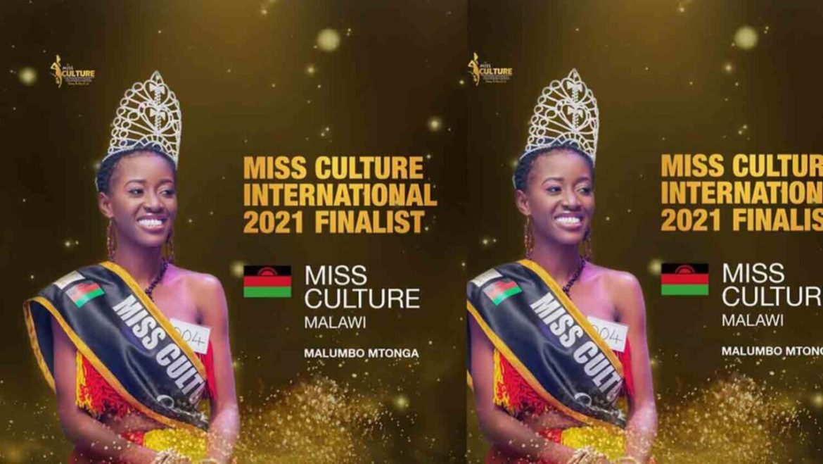 Miss Malumbo Mtong qualifies for Miss Culture International after Miss Culture Malawi 2021 win