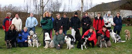 Deltagere på klikkerinstruktøruddannelsen 2003 (Hold 1)