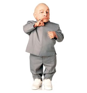 Austin Powers Mini-Me from Dr. Evil could be a powerful force for sustainability
