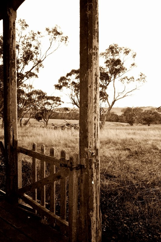 "Gate at front of Old farmhouse by aussie julie ""life through a lens"" on Flickr"