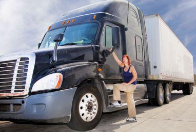 tt-woman truckdriver