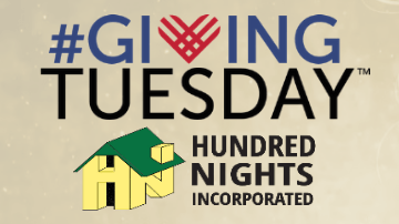 Giving Tuesday with Hundred Nights