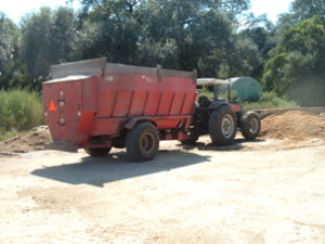feed mixer wagon