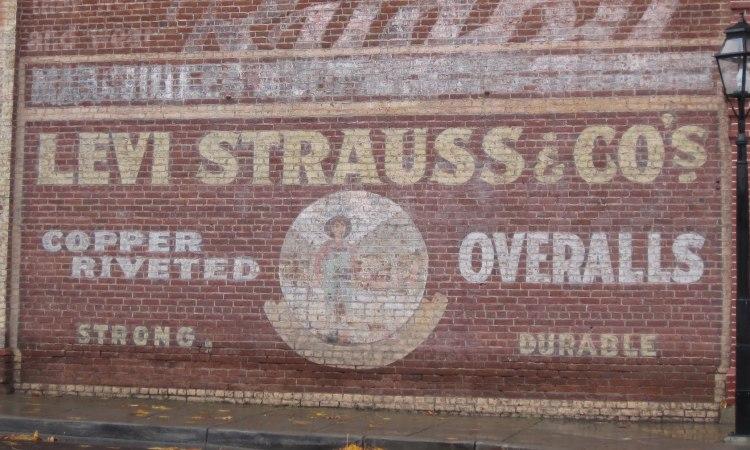 levi's historic mural