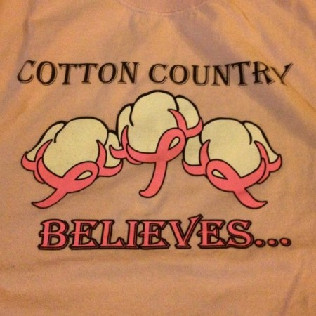 cotton country believes tshirt