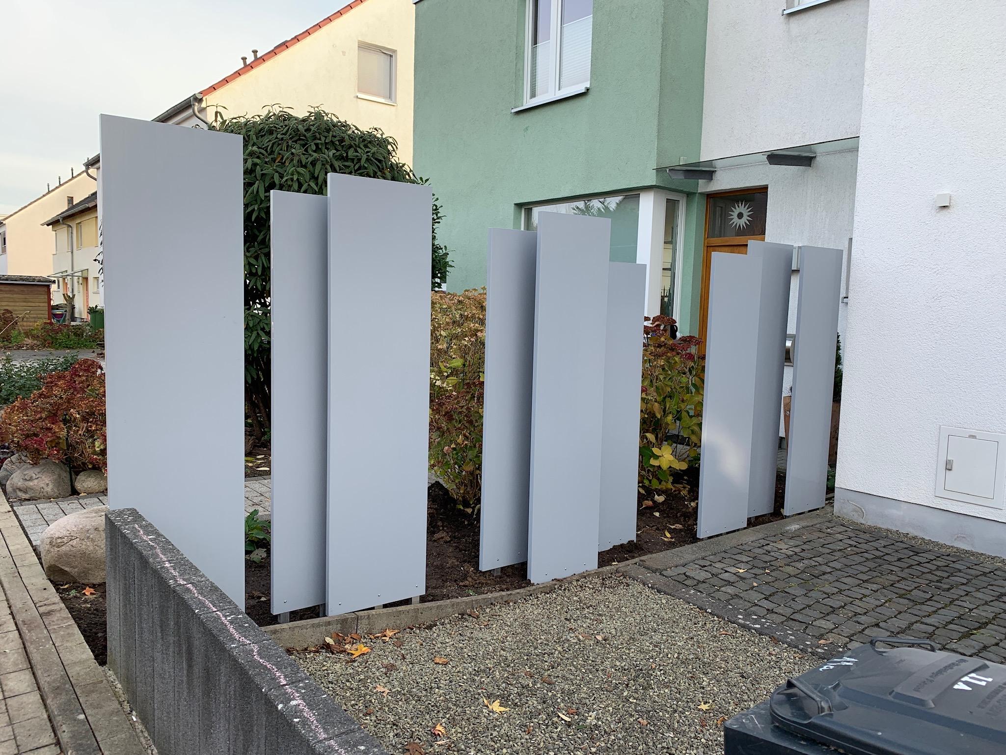 Palisaden Sichtschutz Aus Kunststoff Hundsdorfer Holzbau