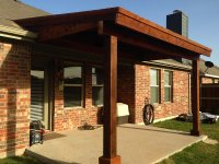 Back Patio Cover In Prosper Texas - Hundt Patio Covers and ...