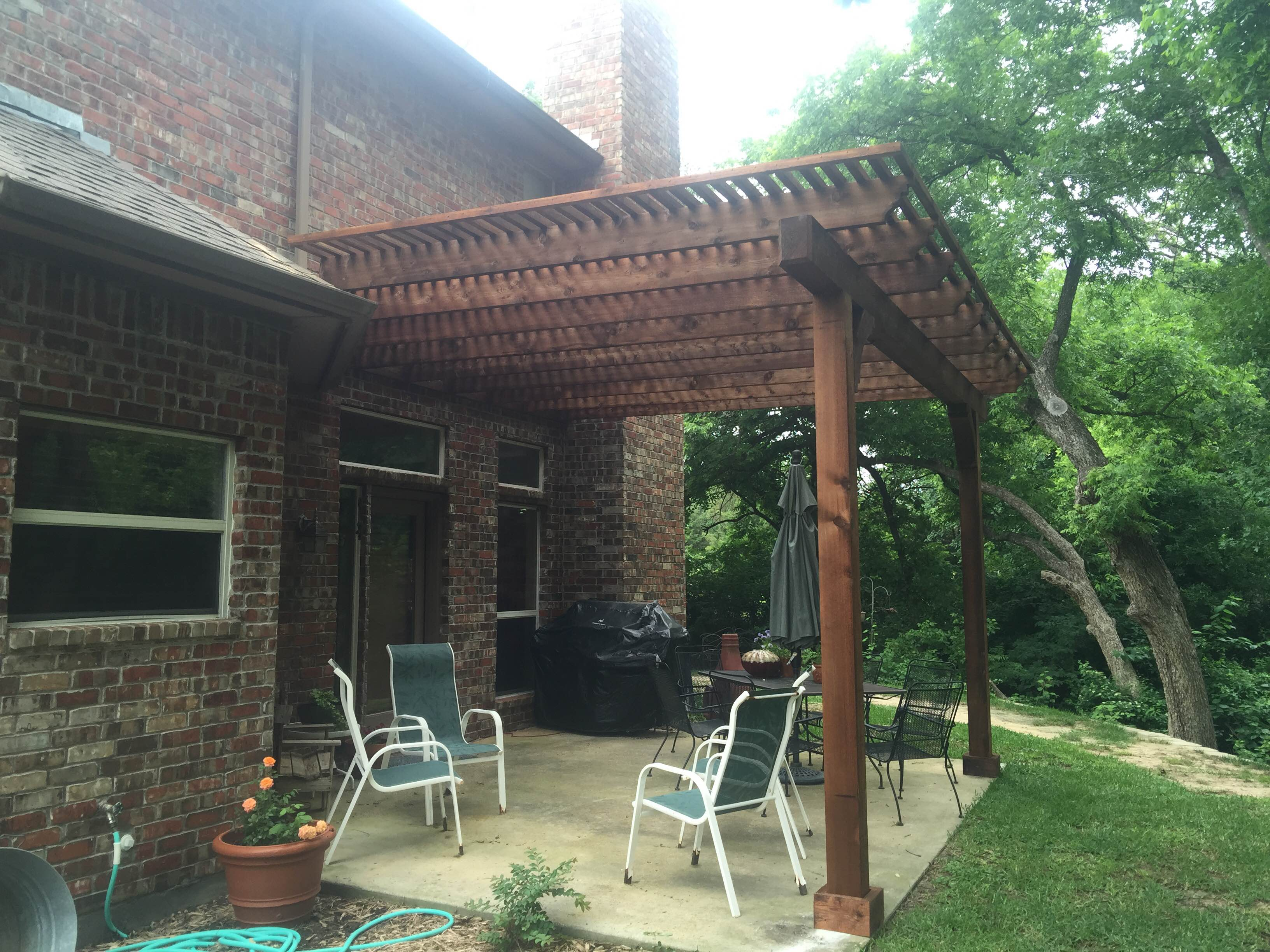 Allen Tx Patio Cover Is Perfect Extension Of Existing