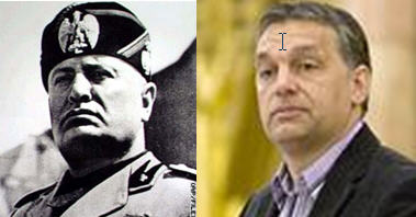 Mussolini-Orbán
