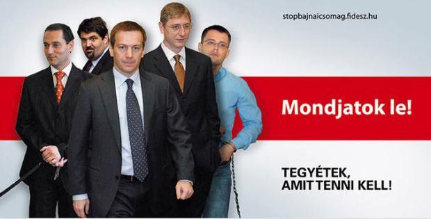 Zuschlag-Gyurcsany-Bajnai plakat