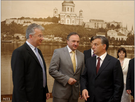 Szlovak KMP, Csaky, Orban es Semjen