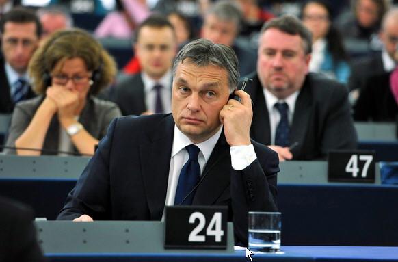 Orban az EP-ben, 12-01-18