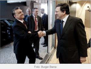 Orban mosolya, Barrosoval valo talalkozas