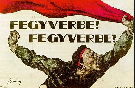Róbert Berényi's famous poster for recruiting volunteers for the Red Army