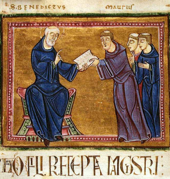 The Rules of Saint Benedict / Wikipedia.org