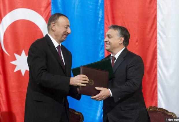 President Ilham Alyev and Prime Minister Viktor Orbán