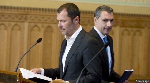 The last press conference given together by János Lázár and András Giró-Szász
