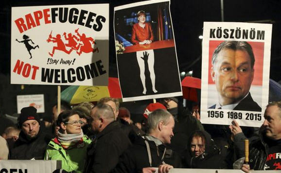 Viktor Orbán, the idol of the German right