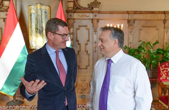 Kai Diekmann and Viktor Orbán / Business Insider