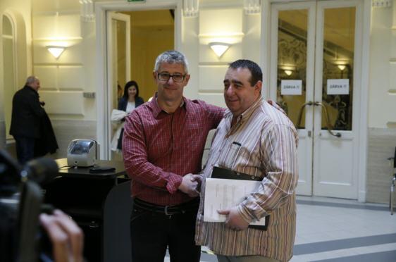 István Nyakó and Sándor Lukács / Photo: Miklós Szabó, Népszabadság