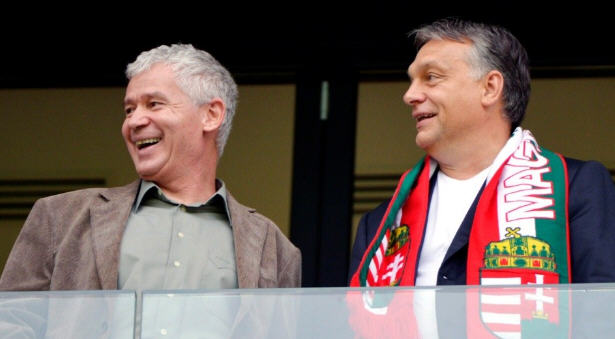 The great friends: Péter Polt and Viktor Orbán