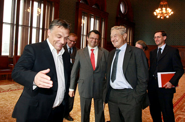George Soros offers help in October 2010 / Ssurce: Origo / Photo Csaba Pelsőczy