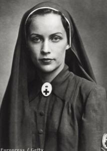 Mrs. István Horthy, née Ilona Edelsheim Gyulai in1942
