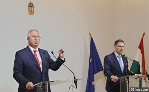 Justice Minister László Trócsányi and Undersecretary Bence Tuzson in charge of communication