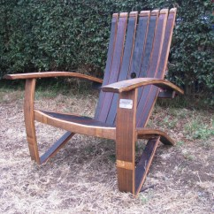 Wine Barrel Chair Reclining Outdoor With Footrest And Whiskey Chairs Are A Great Hit In San Diego The Back Fanning Out