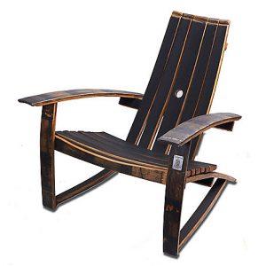 adirondack wine barrel chairs theater chair cad block patio furniture reclaimed wood   hungarian workshop