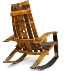 Barrel Stave Adirondack Chair Plans Aeron Alternative Reddit Wine Rocking Zelfaanhetwerk