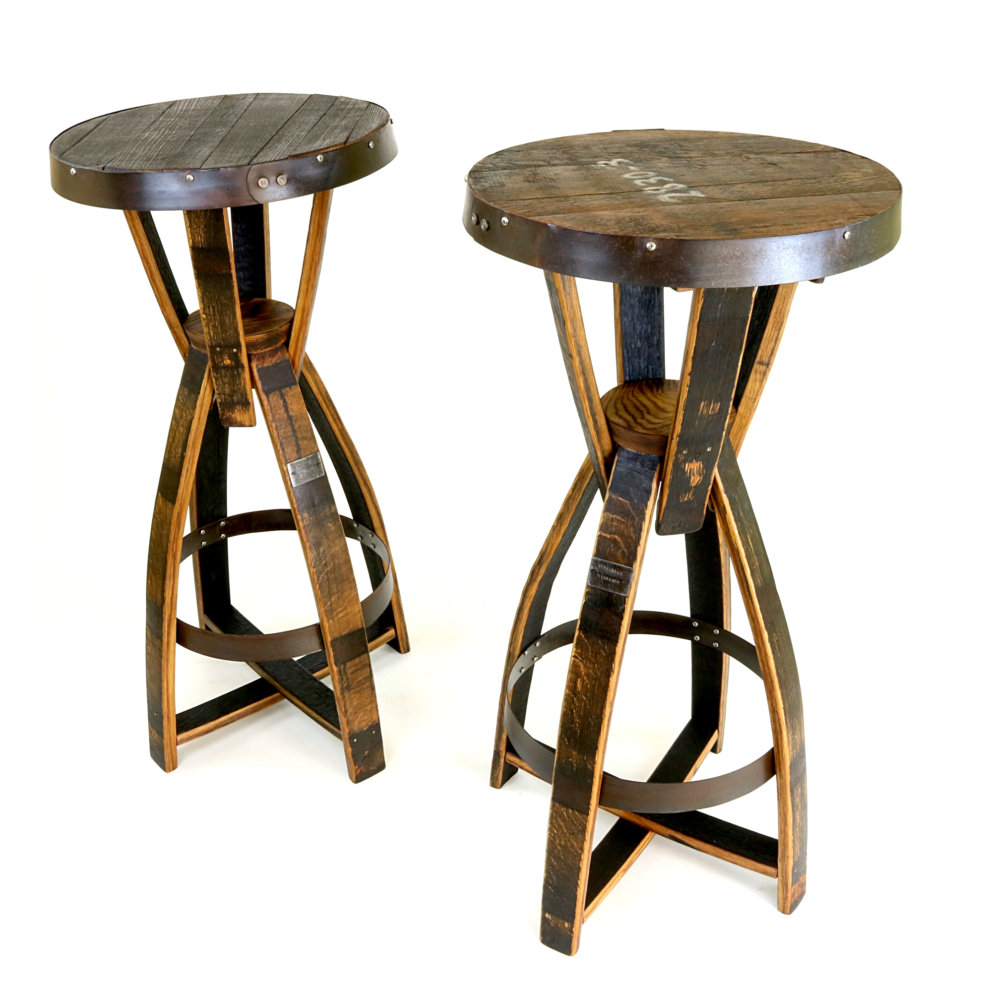 whiskey barrel pub table and chairs tall dining bourbon tables hungarian workshop buy today