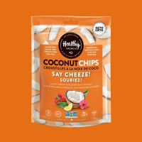 Healthy Crunch Say Cheez Coconut Chips - 100g