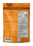 Nud Cheezy Sweet Potato Crackers - Nutrition