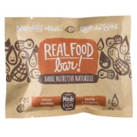 Real Food Bar Sticky Squirrel - 53g