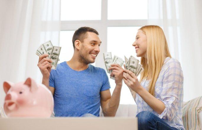 Erfolg zu zweit mit einem Partnerkredit | © panthermedia.net /Lev Dolgachov